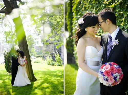 Tiệc cưới tràn ngập hoa baby xinh xắn