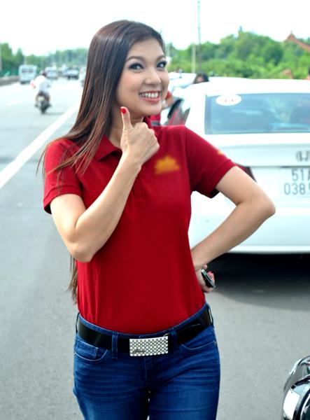 Tranh thủ ngày cuối tuần rảnh rỗi, Phạm Thanh Thảo cùng những người bạn đam mê xe hơi tổ chức chuyến du lịch tới Vũng Tàu kỷ niệm 4 năm thành lập sân chơi chung.
