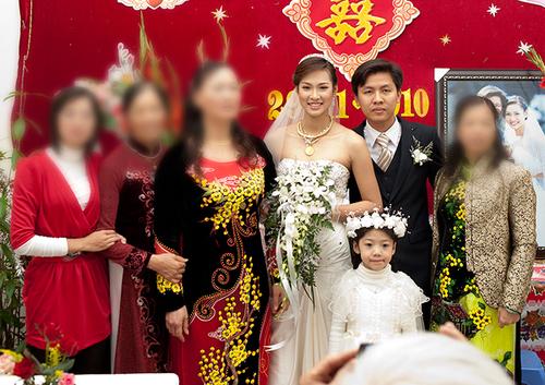 Đám cưới hạnh phúc của Vương Thu Phương vào cuối năm 2010