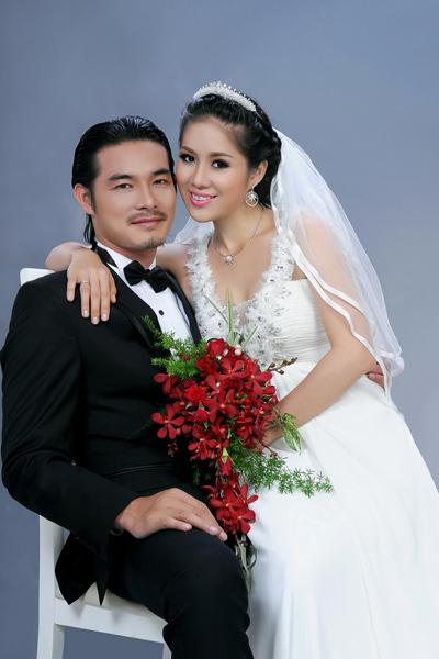 Quách Ngọc Ngoan và Lê Phương đám cưới hôm 12/3.