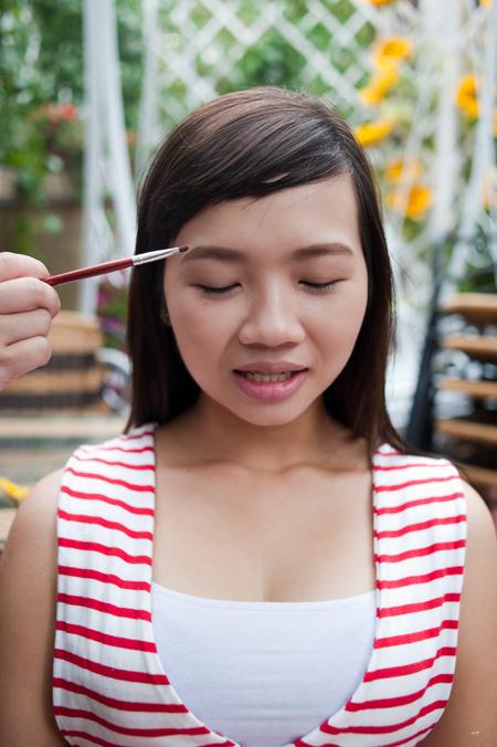 Hình dáng cặp lông mày ảnh hưởng rất nhiều tới sự cân đối của khuôn mặt.