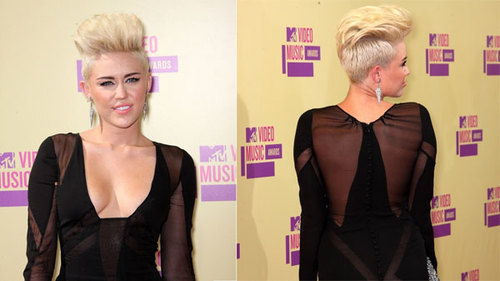 """Miley đã """"xuống tóc"""" vào cuối tháng trước. Dù rất thích sự thay đổi mới mẻ này, ban đầu cô vẫn rất ngại ngùng khi xuất hiện ngoài phố."""