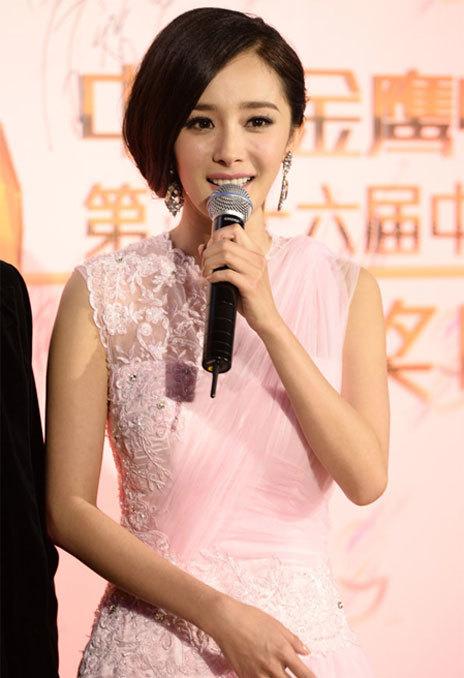 Năm nay, Dương Mịch giành được giải thưởng Diễn viên được khán giả yêu thích, sau thành công của cô ở nhiều tác phẩm truyền hình.