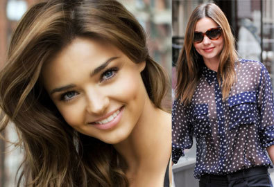'Nữ hoàng thời trang dạo phố' Miranda Kerr