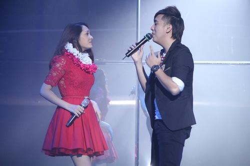 Một người ở TP HCM, một người ở Hà Nội nên Bảo Anh và Minh Vương chưa có dịp làm việc cùng. Tối 19/9, cả hai là nhân vật 'đinh' trong một chương trình ca nhạc.