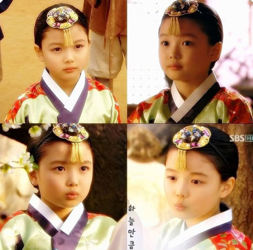 Kim Yoo Jung in Iljimae in 2008