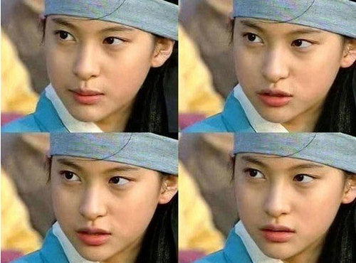 Năm Park Gyuri Kara in Ladies of the Palace in 2001.