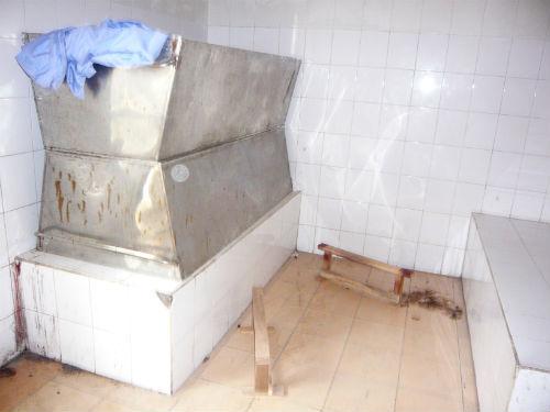 Nhà đại thể bệnh viện 09 nơi hàng trăm xác người