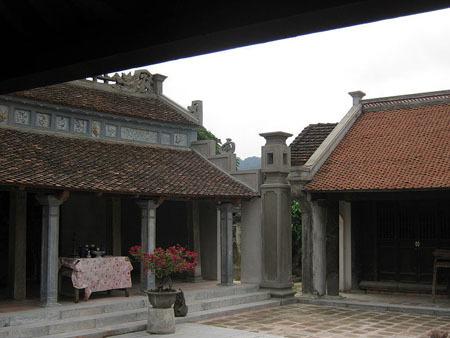 Đền thờ Công chúa Phất Kim ở cố đô Hoa Lư.