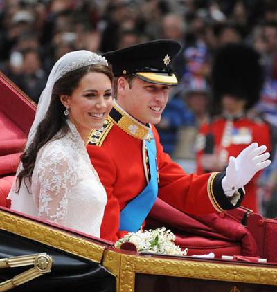 Đám cưới hoàng gia của hoàng tử Wiliiam và