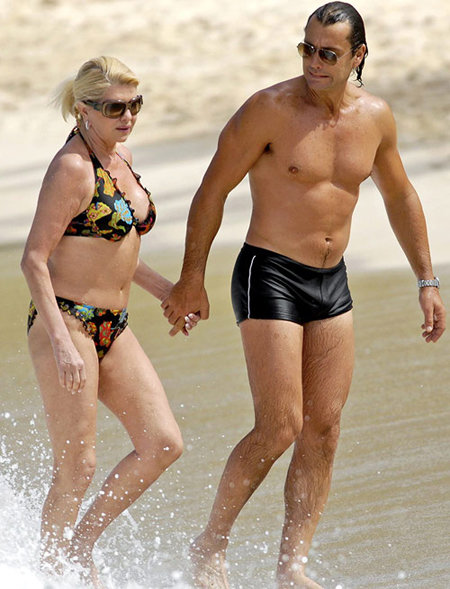 Ivana Trump có sự gợi cảm của một phụ nữ thành đạt
