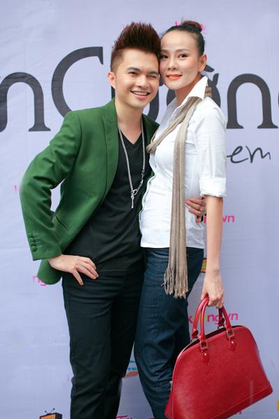 Cựu người mẫu Dương Yến Ngọc thì đóng vai người yêu của Nam Cường trong ca khúc chủ đề 'Nói đi em'. Sự chững chạc của Yến Ngọc cùng sự trẻ trung của Nam Cường