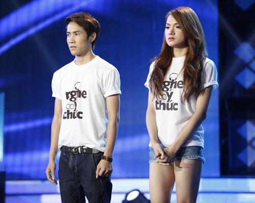 Nhóm thứ hai được gọi tên là Thanh Hưng và Hương Giang. Cả hai đều tỏ ra rất lo lắng và hồi hộp.