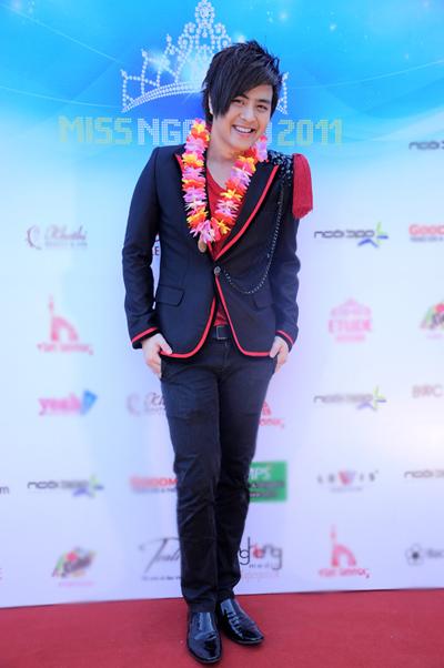 Ca sĩ Wanbi Tuấn Anh hôm tham dự chương trình Miss Ngôi Sao 2011.