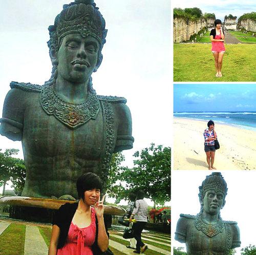 Bali với những bãi biển và đền đài tuyệt đẹp.