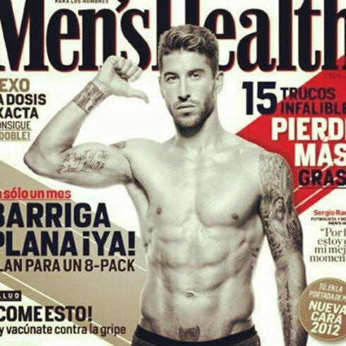 Ramos trên trang bìa tờ