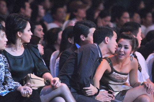 Tối 27/9/2009, Tăng Thanh Hà lần đầu đi dự sự kiện cùng bạn trai.