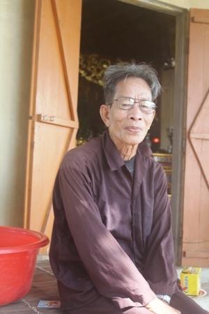 Ông Bùi Trí Trai, người coi Miếu kể lại những câu chuyện thiêng về miếu thờ Hai cô.