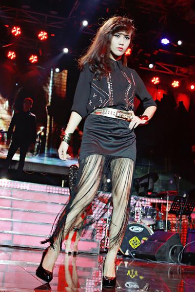 Ngôi sao thời trang 2009 Ngọc Thảo.