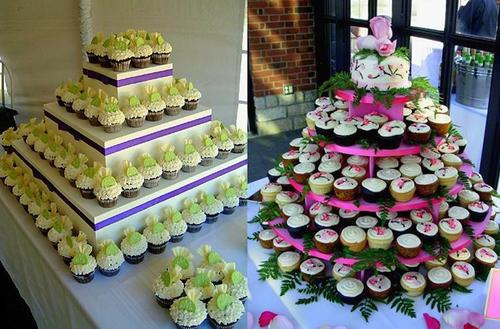 Khi mọi người đã quen với những chiếc bánh cưới truyền thống thì việc đưa những chiếc cupcake vào tiệc sẽ khiến đám cưới của bạn mới lạ, đặc biệt hơn. Các vị khách vì thế mà sẽ có ấn tượng tốt hơn khi tham dự tiệc.