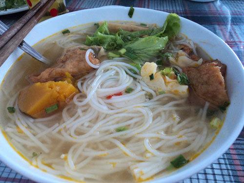 Bún chả cá đặc sản của Đà Nẵng.