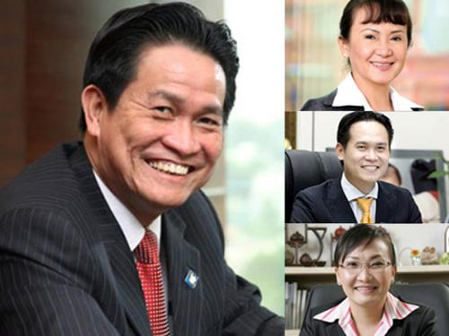 Các thành viên nổi tiếng của gia đình ông Đặng Văn Thành.