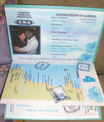 Các mẫu thiệp cưới lạ theo chủ đề du lịch