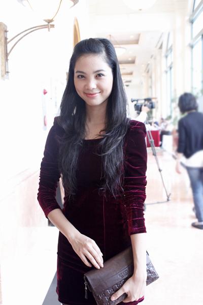 Diễn viên Hoàng Linh.