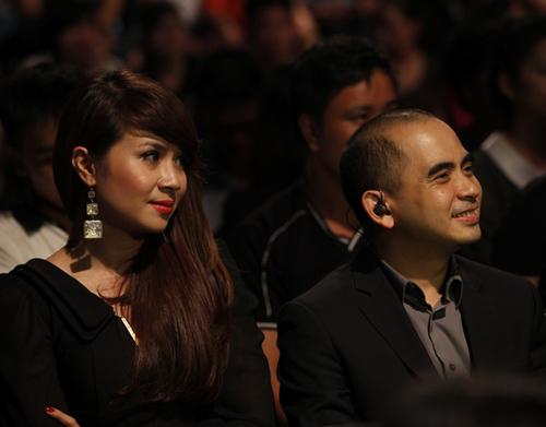 Hai nhạc sĩ Lưu Thiên Hương và Đức Trí có mặt trong đêm thi để ủng hộ các thí sinh hát những ca khúc do họ sáng tác. Cả hai hỗ trợ hết mình và chia sẻ niềm vui khi top 7 đã làm được phần nào những gì họ đã trao đổi trong quá trình tập luyện.