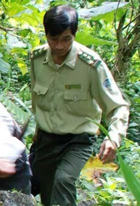 Hoàng Cửu Tung, Trạm trưởng Trạm Kiểm lâm địa bàn