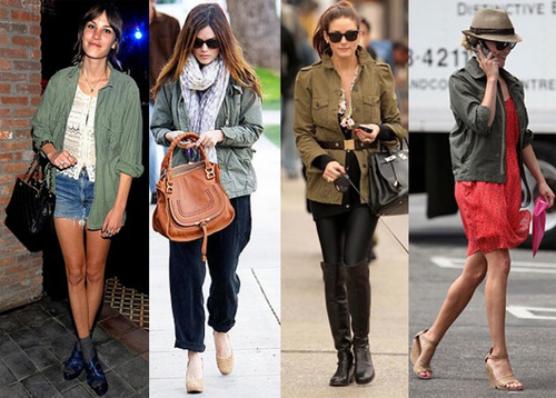 Alexa Chung, Rachel Bilson, Olivia Palermo and Reese Witherspoon
