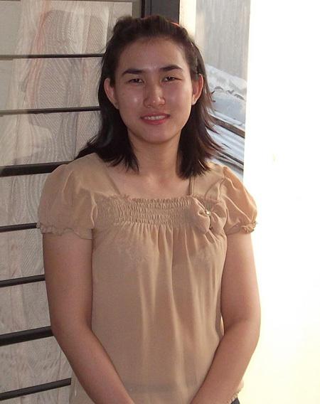 Thí sinh dự thi: Nguyễn Thị Hoa