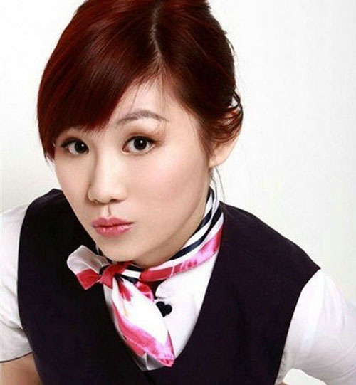 """Huang Xinke is another stewardess who crossed over into singing and acting. She was a stewardess with Southern Airlines and became popular for being the rumored girlfriend of Leehom Wang, a famous singer in China. As a singer, her song """"Mei Wo Zhi You Ta"""" has attracted more than 1 million listeners in only five days, setting a record. In addition, her wet T-shirt photos gained her significant online popularity."""