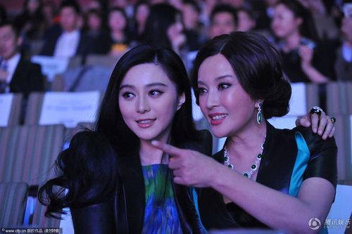 """Trên hàng ghế khán giả, Phạm Băng Băng và """"Võ Tắc Thiên"""""""