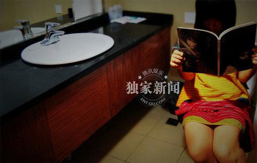 Mạnh Dao nói, mỗi ngày mùa đông, cô đóng phim khoảng 3, 4 giờ,