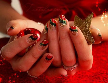 french-nail-art-2012christmas10-998667-1
