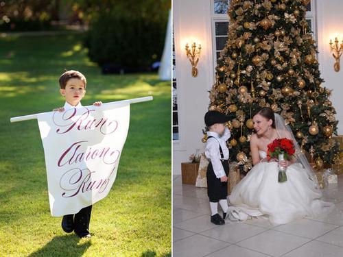 8. Gửi lời cảm ơn các em bé phù dâu phù rể nhí bằng cách chụp ảnh hay chuyện trò.