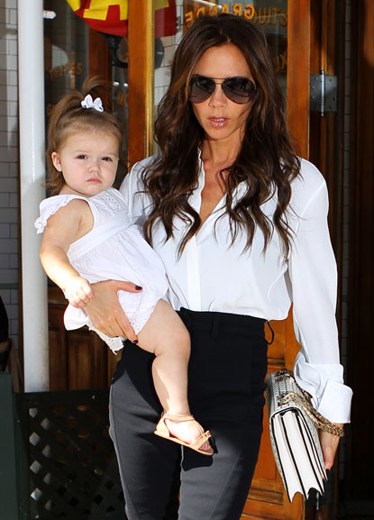 Victoria Beckhams daughter Harper is just a baby and she is already Posh! After giving birth to so many boys, it isnt surprising that the fashion designer dotes endlessly on her first baby girl.