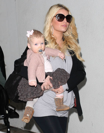Jessica Simpson became a proud mom to Maxwell Drew Johnson in 2012.