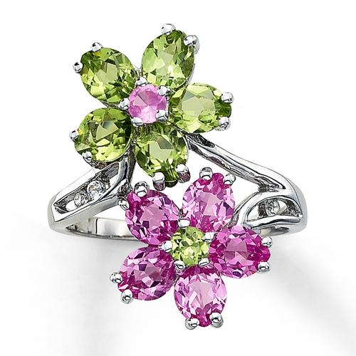 8. Nhẫn Spring Flower: