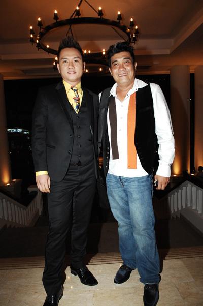 Ca sĩ Hàn Thái Tú lại đi cùng đạo diễn Trần Vi Mỹ.