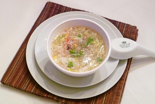 Với thành phần nguyên liệu nhiều sắc màu, món súp luôn hấp dẫn cả về hình thức lẫn chất lượng.