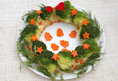 Vòng nguyệt quế salad khoai tây