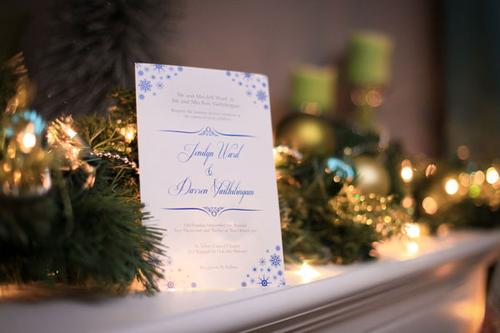Tổ chức đám cưới mùa Noel ấm áp