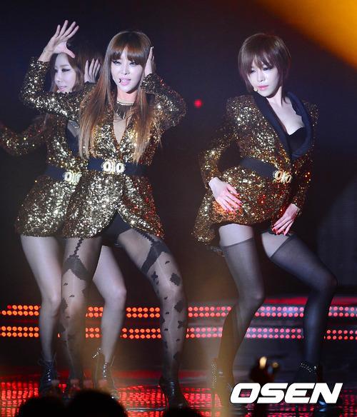 """4 cô gái của Brown Eyed Girls đã khiến không khí đêm nhạc """""""