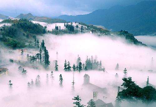 Sapa, thành phố trong sương.