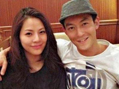 Trần Quán Hy và bạn gái Angela.