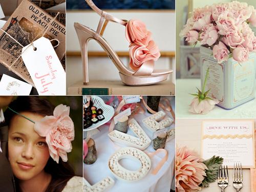 5 màu trang nhã cho đám cưới mùa xuân