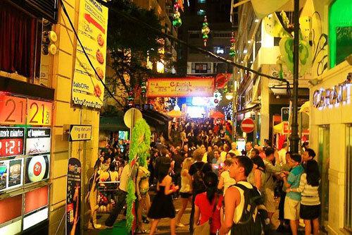 Một góc khu phố Lan Quế Phường.