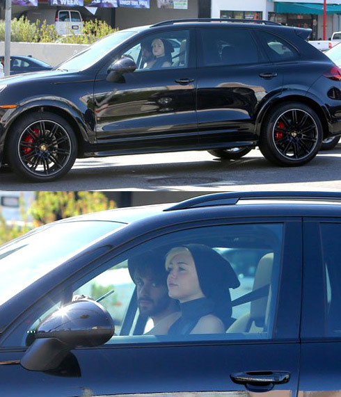 Miley Cyrus thường xuyên tự lái chiếc
